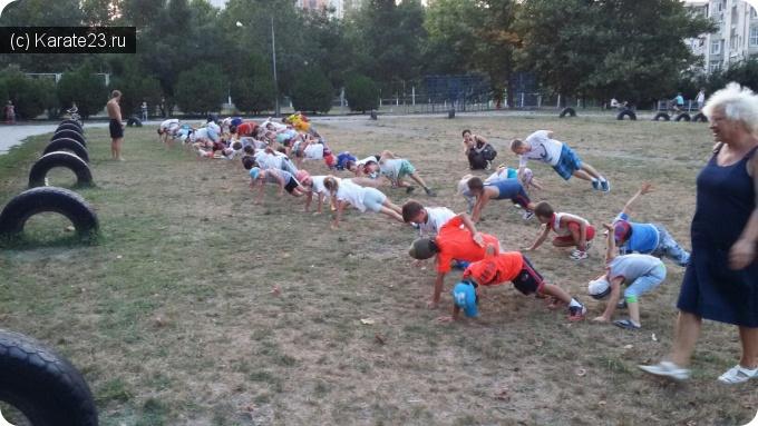 Мероприятия: Атлетические тренировки в 19:00 на 7 школе