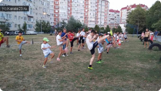Мероприятия: Тренировки в седьмой школе