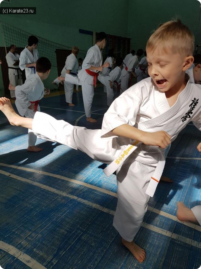 Мероприятия: тренировки по каратэ с 3х лет