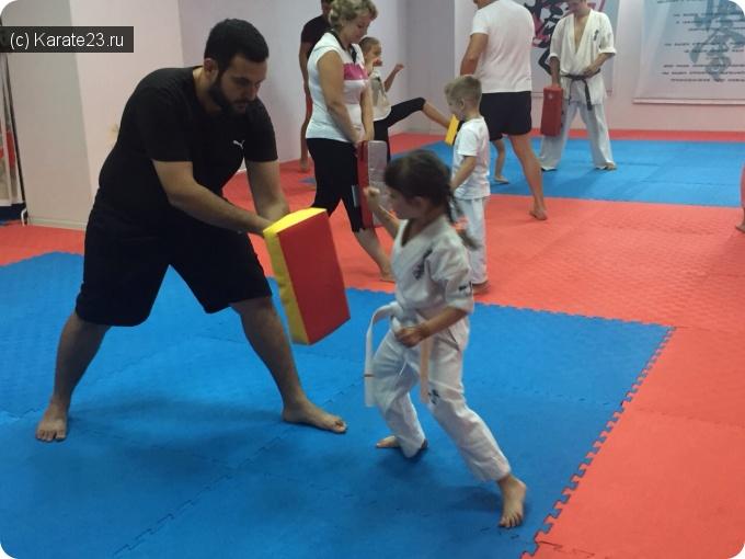 Блог Семпай  Максим: Воскресная тренировка для детей и родителей