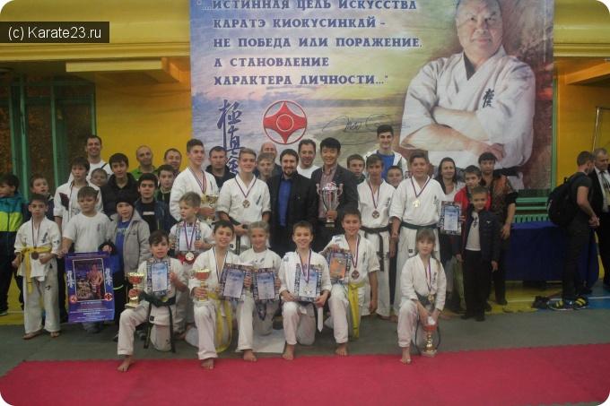 Турниры: Призеры СК Самурай 24-25 октября 2015 г. на Первенстве Краснодара