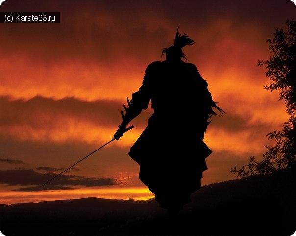 Япония: Бусидо - кодекс чести самурая.