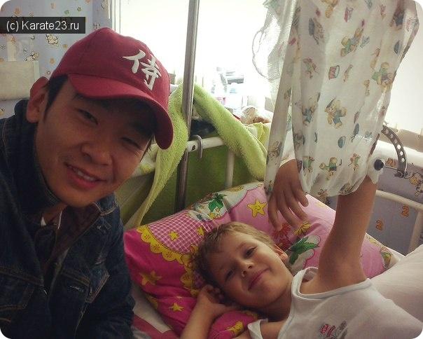 Блог Самурая: Андрей Пасхальный попал в больницу с переломом руки. Будьте аккуратней!