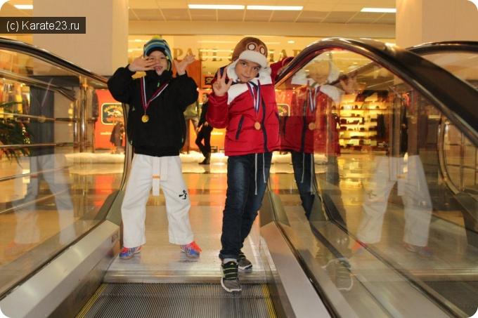 Турниры: Результаты Самураев на Кубке Новичка в Краснодаре 14 декабря 2014 года
