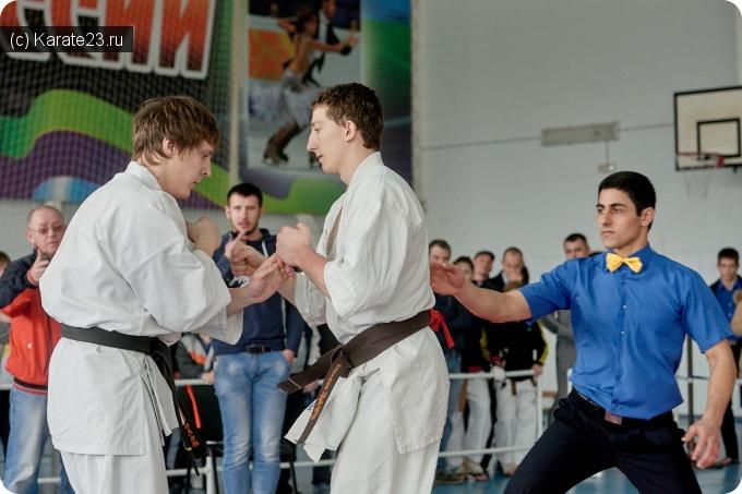 Турниры: Кубок Краснодарского края по Киокусинкай в Лабинске