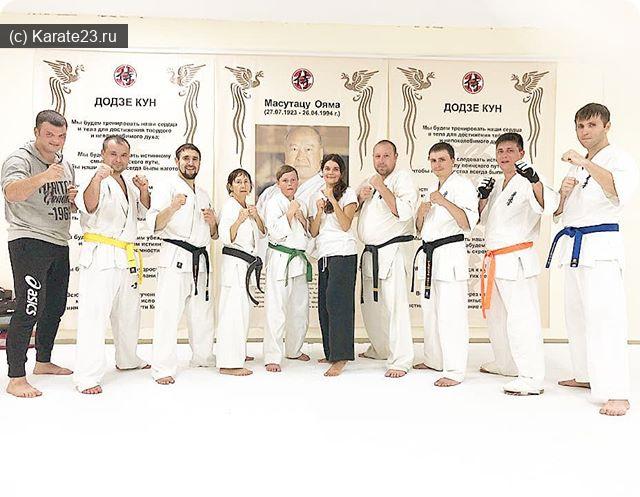 Блог Самурая: Тренировки каратэ для взрослых в клубе Самурай Анапа