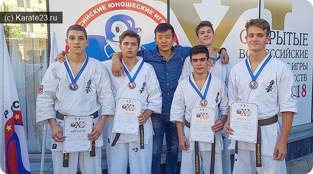 Турниры: 20 сентября 2018 результаты Самураев из Анапы на Всероссийском турнире
