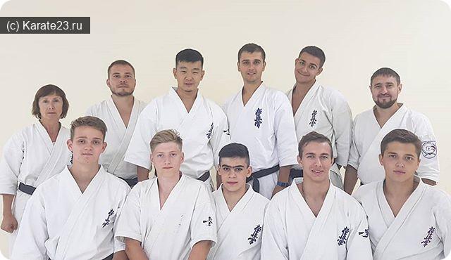 Спорт в Анапе: тренеры в Самурае