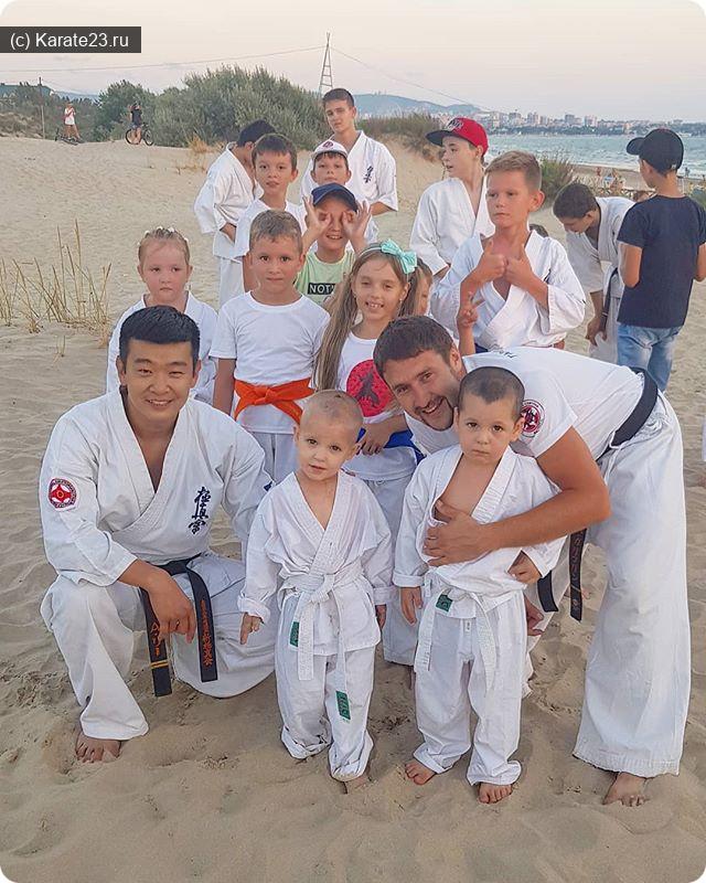 Спорт в Анапе: тренировки в анапе на плаже