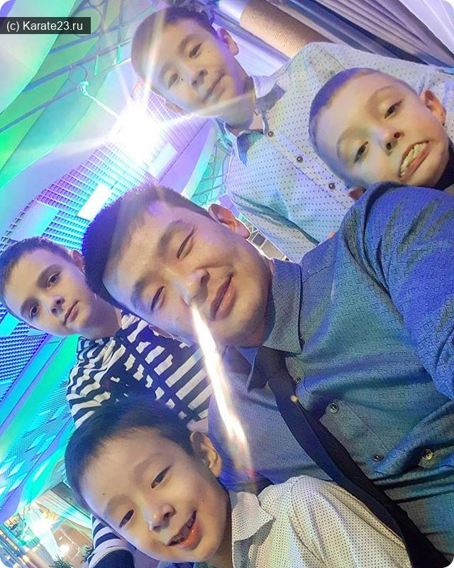 самурай с детьми