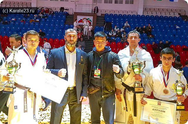 Турниры: Результаты Самураев на Первых Всероссийских соревнованиях по Киокусинкай Кубок Ахмат 2-3 февраля 2019