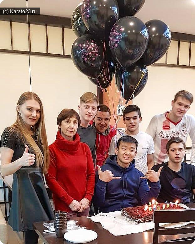 Мероприятия: 3 марта отметили День рождения Спортклуба Самурай !