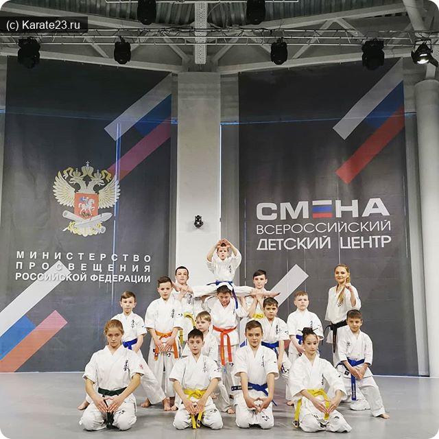 Мероприятия: Выступления Самураев на открытии ВДЦ СМЕНА в Сукко