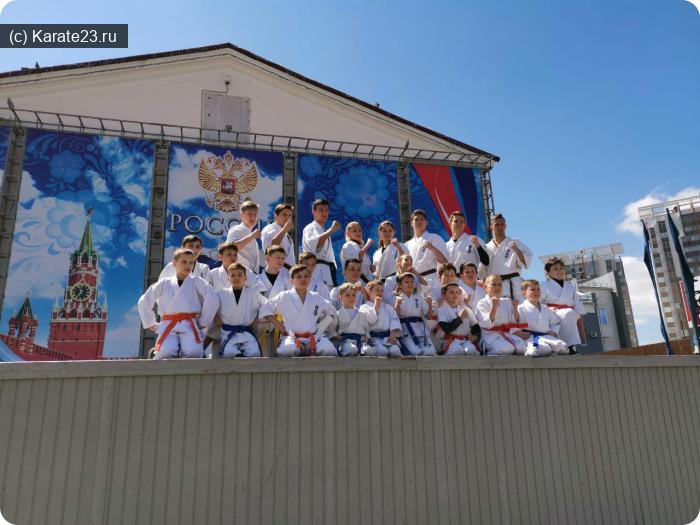 Мероприятия: Показательный выступления Самураев на празднике спорта в Анапе 21 апреля 2019