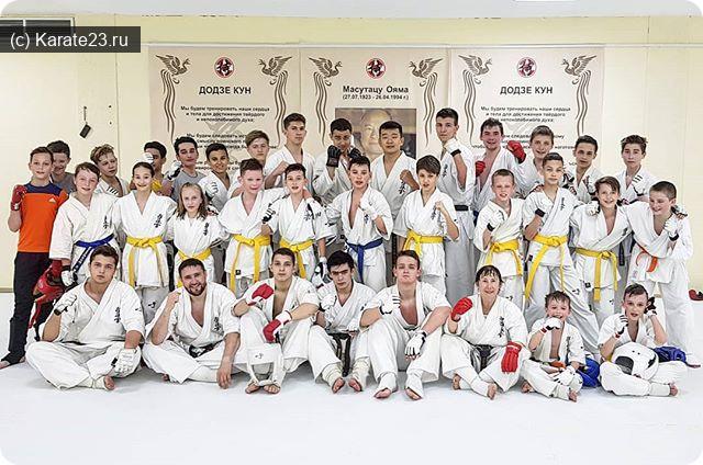 Мероприятия: Воскресная тренировка по кумитэ и ката в Самурае 14 апреля 2019