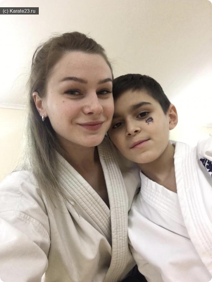 Мероприятия: Ступак Марина со своим учеником