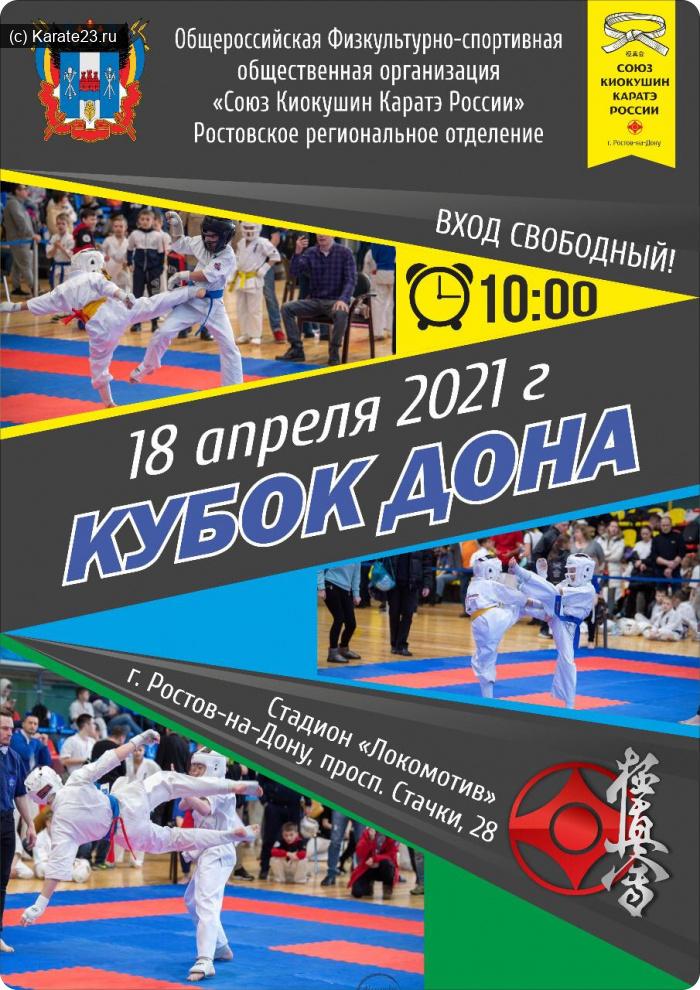 Турниры: Кубок Дона 18 апреля 2021
