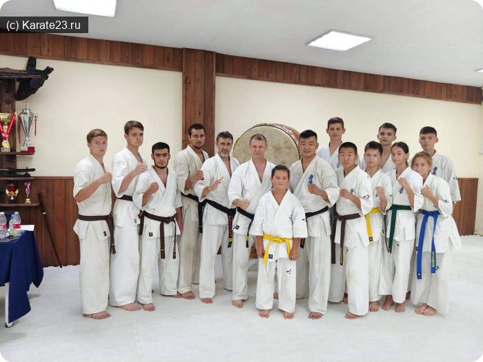 Учебно тренировочные сборы: Чёрные пояса спортклуба Самурай в Анапе и Новороссийске