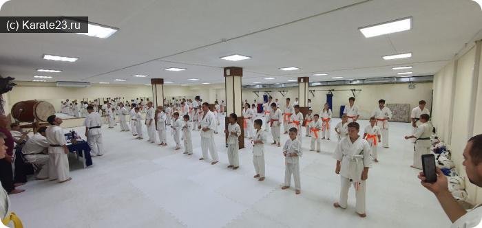 Мероприятия: на экзамене ученики клубов самурай