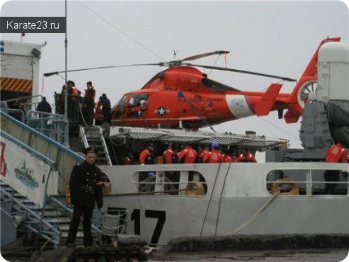 Пограничный сторожевой прибыл в Новороссийск