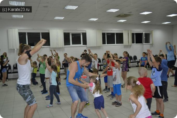Учебно тренировочные сборы: Лагерь Самурай в Шепси или история о том, как весело и с пользой провести время