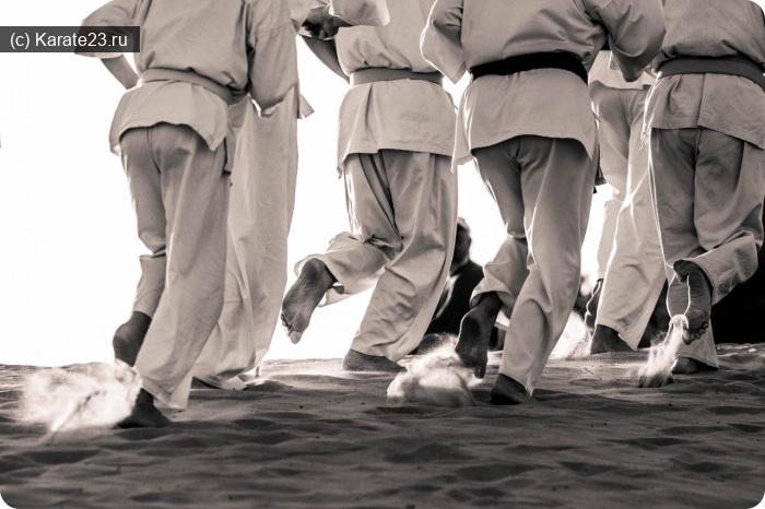 Блог Самурая: тренировка самураев на песке