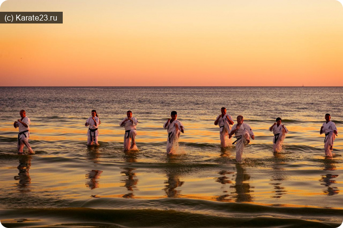 Блог Самурая: каратэ в анапе на море