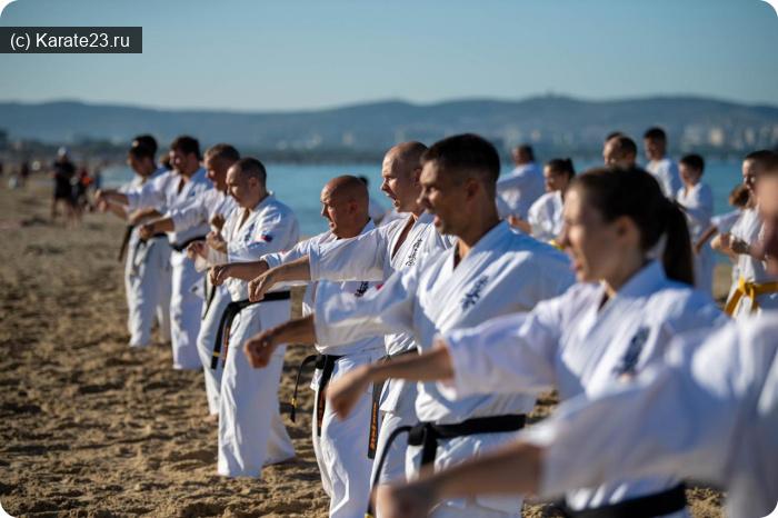 Блог Самурая: тренировки анапа на пляже Джемете