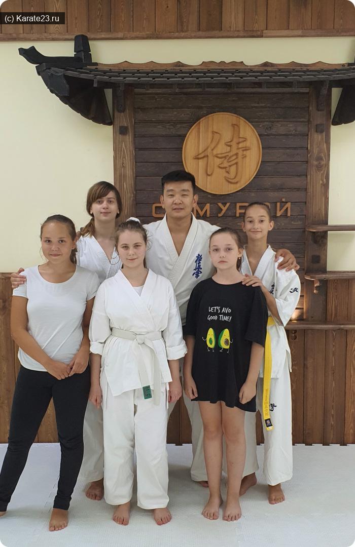 Союз Киокушин каратэ России: Девушки в каратэ
