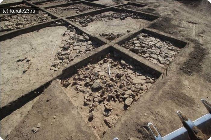 Анапа город курорт: В Анапе нашли древнюю античную дорогу