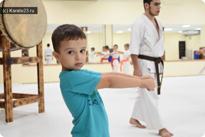Блог Самурая: Детки каратэ с 3х лет