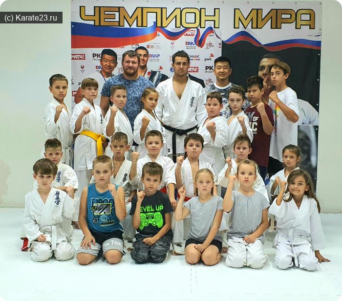 Мероприятия: Новороссийск каратэ Самурай