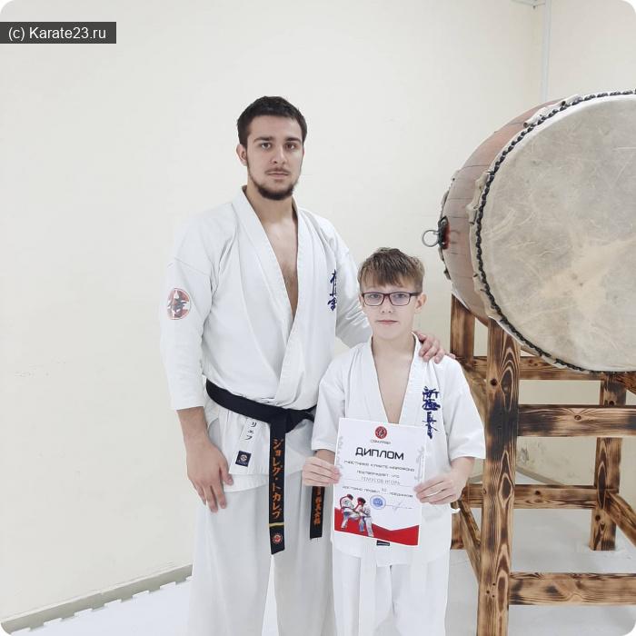 Конкурс Я-Самурай: Гемусов Игорь 11 лет Анапа