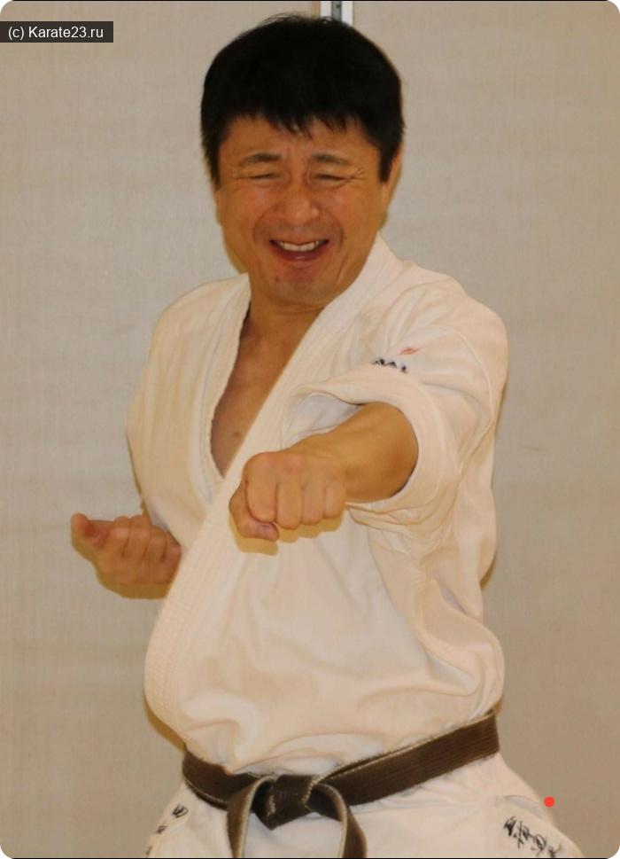 Личности Киокушина ( Мир ): Шигеру Табата шихан