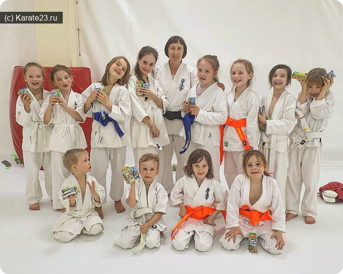 Блог Самурая: Девочки в каратэ Анапа и Новороссийск